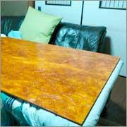 コストを抑えて我が家のテーブルに合った天板作り