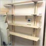ディアウォールを使った簡単書棚作り!
