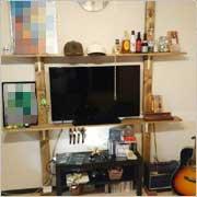 賃貸住宅の為の傷を付けない壁面DIY
