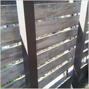 初心者でも出来ました!DIYで庭前に自作目隠しフェンスの設置