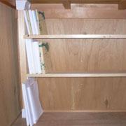 初めてでも出来る!押入れ収納に役立つ本棚のDIY