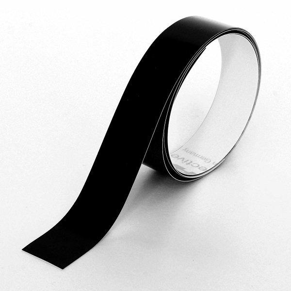 黒い反射テープ 幅18mm×長さ1m AHW301
