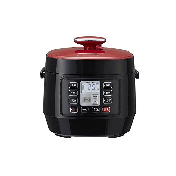 マイコン電気圧力鍋 レッド KSC−3501/R