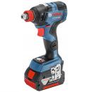 ボッシュ 充電2in1インパクトドライバー GDX18V−200 【バッテリー2個、充電器、ケース付】