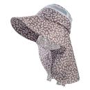 のらスタイル 防虫農園帽 オリビア フラワーグレー