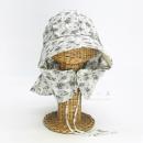 のらスタイル ふわっと涼しい帽 ダブルガーゼ 裏チェック NS−135