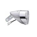 パナソニック LEDハブダイナモ専用ライト シルバー NSKL142
