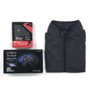 HOOH V1000 快適ウェア スターターセット ( 赤ファン ) スラブブラック L