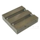 木製パレット250 3枚打ち 茶 幅245×奥250×高55mm