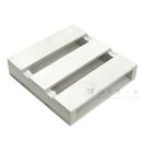 木製パレット250 3枚打ち ホワイト 幅245×奥250×高55mm