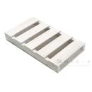 木製パレット250 5枚打ち ホワイト 幅245×奥430×高55mm