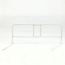 組み立て 伸縮ベッドガード 約85〜110×40.5×35cm ホワイト OTBーG1125