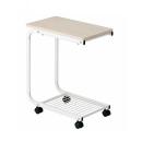 サイドテーブル ナチュラル キャスター付 約幅50×高さ60×奥30cm ST−60NA