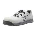 ディアドラユーティリティ 作業靴 フィンチ FC−181 24.5cm ホワイト×シルバー