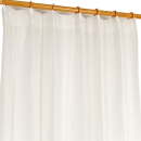 レースカーテン オニール 100×108cm ホワイト 2枚組
