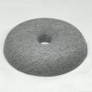 グラシエ 低反発円座クッション GR 約40R×7cm