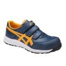 アシックス 作業靴 ウィンジョブ CP301 5004 インシグニアブルー×ゴールドフュージョン 26.5cm
