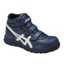 アシックス 作業靴 ウィンジョブ CP302 5001 インシグニアブルー×ホワイト 26.5cm