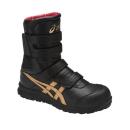 アシックス 作業靴 ウィンジョブ CP401 9094 ブラック×ゴールド 26.5cm