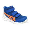 アシックス 作業靴 ウィンジョブ CP203 ディレクトワールブルー×ショッキングオレンジ 26.5cm