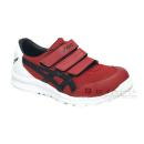 アシックス 作業靴 ウィンジョブ CP202 クラシックレッド×ブラック 26.5cm