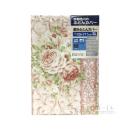 京都西川 敷きふとんカバー 花柄 シングルロング ピンク