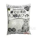 イエモア 紙で出来たネコ砂 ホワイト 13.5L