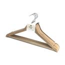 イエモア 木製ハンガー 5本組