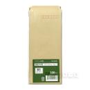 クラフト封筒 長形4号 90×205mm 郵便枠付き 70g/m2 100枚入