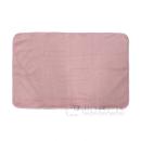 イエモア ラビットファー調 ブランケット 60×90 ピンク