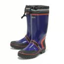 WAGENYA 糸入りカバー付長靴 反射テープ付 24.5cm