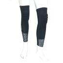 WAGENYA コーデュラ 膝プロテクト レッグカバー ブラック フリーサイズ