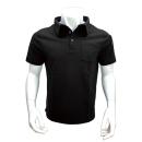 WAGENYA コーデュラ ポロシャツ 半袖 L ブラック