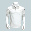 WAGENYA コーデュラ ポロシャツ 半袖 L ホワイト