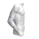 WAGENYA 制菌アームカバー ホワイトカモ L