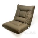 ドウシシャ de・za・isu ワイドインテリア座椅子 ブラウン
