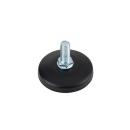 ルミナスノワール [25mm] 円形アジャスター 1個 直径5.5×高さ2cm