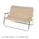 キャプテンスタッグ アルミ 背付ベンチ用 着せかえカバー ベージュ UC−1651