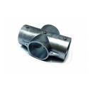 単管ジョイント金具 2−3X−Z 4方出1ヶ所貫通 かん太くん