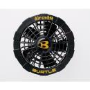 BURTLE (バートル) エアークラフト AC220 ファンユニット ブラック