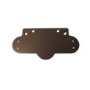 リョービ ドアマン S−102P用背板 チョコ