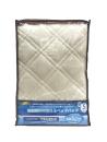 昭和西川 抗菌防臭ベッドパット シングル ベージュ