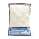 昭和西川 抗菌防臭ベッドパット セミダブル ベージュ