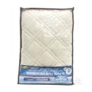 昭和西川 抗菌防臭ベッドパット ダブル ベージュ