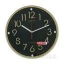 URBANITA 電波掛け時計 ブラウン JWCL−814BR