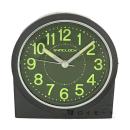 SYNCLOCK 目覚まし時計 集光文字板 グレーメタリック
