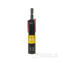 漆黒 電動・充電式インパクトドライバー用 ビットソケット ディープソケット 13mm
