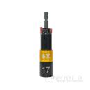 漆黒 電動・充電式インパクトドライバー用 ビットソケット ディープソケット 17mm