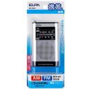 ELPA AM/FMポケットラジオ ER−P66F