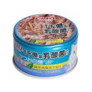 CIAO チャオ 乳酸菌入り 缶 かつお白身 かつおだし仕立て 85g